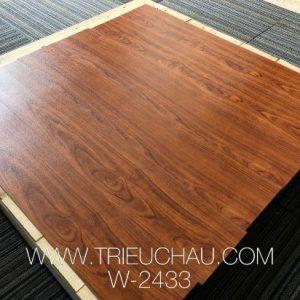 Sàn nhựa vân gỗ Nanolife 3mm 2433