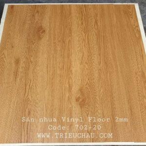 Sàn nhựa vân gỗ Vinyl Floor 702-20