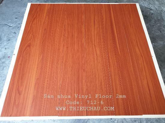 Sàn nhựa vân gỗ Vinyl Floor 712-6