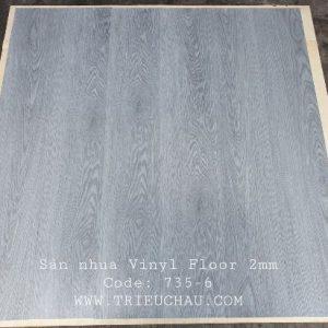 Sàn nhựa vân gỗ Vinyl Floor 735-6
