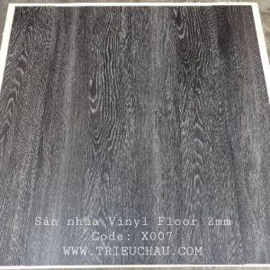 Công trình Sàn nhựa vân gỗ Vinyl Floor X007