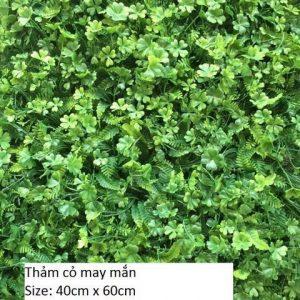 Thảm cỏ 4 lá nhựa