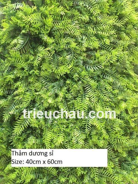 Thảm cỏ dương sỉ nhựa