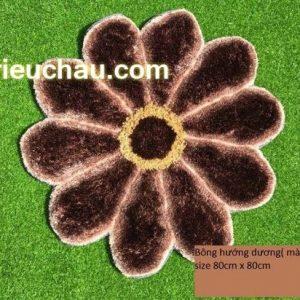 Thảm lau chân hình hoa hướng dương