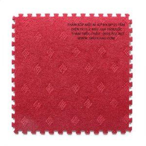 Thảm xốp 40 × 40 cm nỉ hoa âu lạc