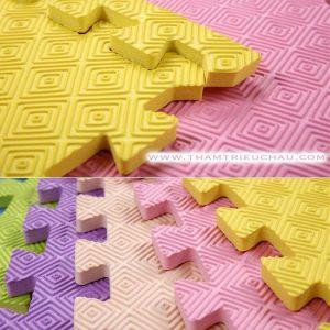 Thảm xốp màu 60 × 60 cm