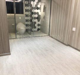 Thi công sàn nhựa SPC Universe 4mm tại khách sạn 4 sao Lotte Mart Cộng Hòa 6